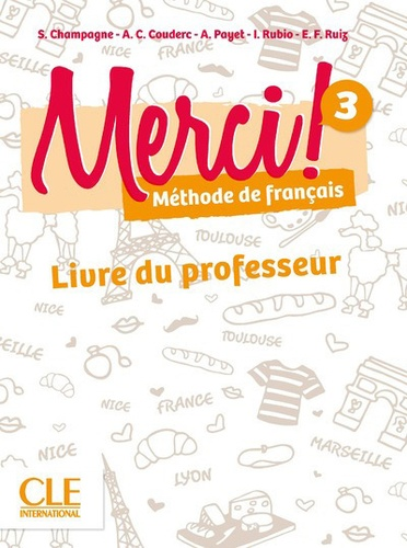Methode De Francais Fle Merci Niveau 3 Guide Pedagogique Grand Format