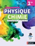 Nathan - Physique Chimie 1re Sirius Enseignement de spécialité - Livre de l'élève.