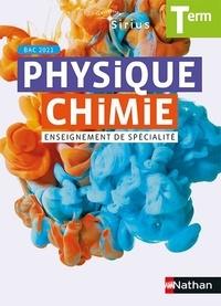 Nathan - Physique-Chimie Tle Sirius enseignement de spécialité.