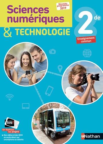 Sciences Numeriques Et Technologie 2de Livre De L Eleve Grand Format