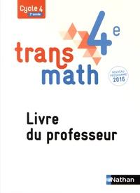 Nathan - Transmath 4e - Livre du professeur.