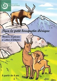 National des py Parc - Paco le petit bouquetin ibérique - Histoire à colorier et cahier d'activité.