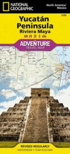 National Geographic - Yucatan Peninsula - 1/500 000.