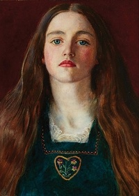 National Portrait Gallery - Pre-Raphaelite sisters notecards.