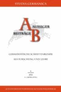 National - postnational - transnational? - Neuere Perspektiven auf die deutschsprachige Gegenwartsliteratur aus Mittel- und Osteuropa.