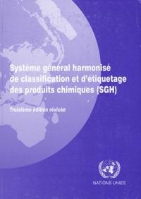 Nations Unies - Système général harmonisé de classification et d'étiquetage des produits chimiques (SGH).