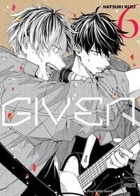 Natsuki Kizu - Given Tome 6 : .