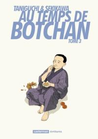 Natsuo Sekikawa et Jirô Taniguchi - Au temps de Botchan Tome 3 : Dans ces cieux azurés.