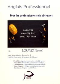 Nawel Lounis - Anglais professionnel pour les professionnels du bâtiment.