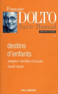 Nazir Hamad et Françoise Dolto - .