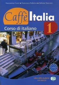 Deedr.fr Caffe Italia 1 - Corso di italiano + libretto complementare Image
