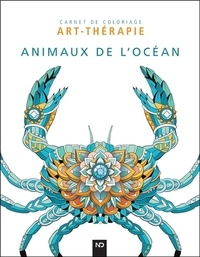 ND Editions - Animaux de l'océan - 40 illustrations à colorer.