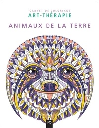 ND Editions - Animaux de la terre - 40 illustrations à colorer.