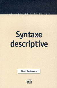 Nebil Radhouane - Syntaxe descriptive.