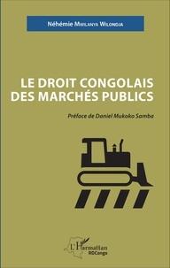 Deedr.fr Le droit congolais des marchés publics Image