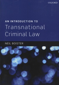 Ucareoutplacement.be An Introduction to Transnational Criminal Law Image
