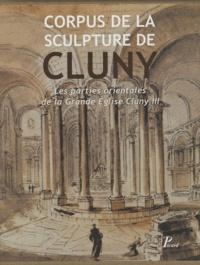 Corpus de la sculpture de Cluny- Les parties orientales de la Grande Eglise Cluny III, 2 volumes - Neil Stratford |