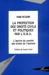 La protection des droits civils et politiques par lONU - Loeuvre du comité des droits de lhomme.pdf