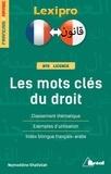 Nejmeddine Khalfallah - Les mots clés du droit - Classement thématique, exemples d'utilisation, index bilingue.