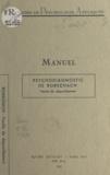 Nella Canivet - Psychodiagnostic de Rorschach - Feuille de dépouillement.