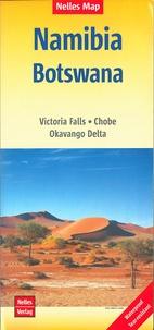 Nelles - Namibie Botswana - 1/1 500 000.