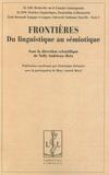Nelly Andrieux-Reix - Frontières - Du linguistique au sémiotique.