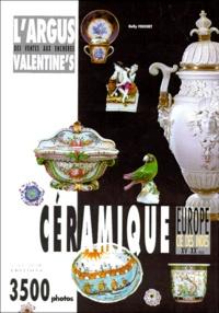 Nelly Fouchet - L'argus Valentine's des ventes aux enchères - Céramique....