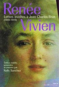 Nelly Sanchez - Lettres inédites à Jean Charles-Brun - Edition établie, présentée et annotée par Nelly Sanchez.