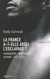 Nelly Schmidt - La France a-t-elle aboli l'esclavage ? - Guadeloupe-Martinique-Guyane (1830-1935).