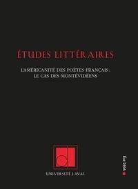 Nelson Charest et Bill Marshall - Études littéraires. Vol. 47 No. 2, Été 2016.