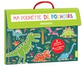 Nesk - Ma pochette de pochoirs - Dinosaures.
