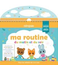 Lemememonde.fr Ma routine du matin et du soir Mémoniak 2020-2021 Image