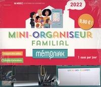 Nesk - Mini-organiseur familial Mémoniak - 16 mois, de septembre 2021 à décembre 2022.
