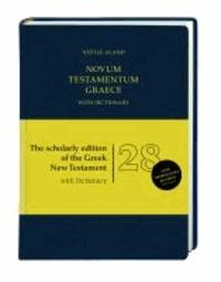 Nestle-Aland Novum Testamentum Graece - mit griechisch-englischem Wörterbuch.