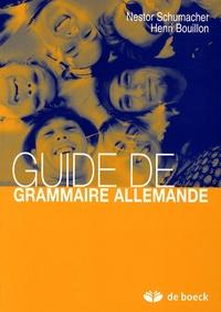 Lemememonde.fr Guide de grammaire allemande Image