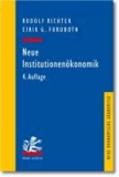 Neue Institutionenökonomik - Eine Einführung und kritische Würdigung.