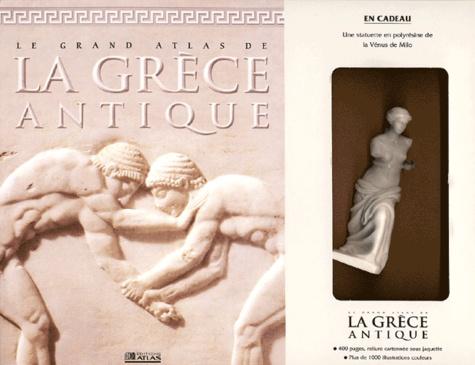 Nevio Degrassi et Cesare Saletti - Le grand atlas de la Grèce antique - Avec une statuette de la Vénus de Milo.