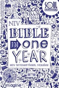 New International Version - NIV Soul Survivor Bible In One Year.