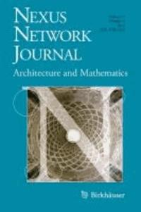 Nexus Network Journal 13,3 - Architecture and Mathematics.