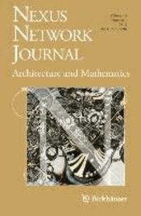 Nexus Network Journal 14,1 - Architecture and Mathematics.