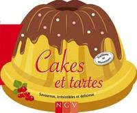 NGV - Cakes et tartes - Savoureux, irrésistibles et délicieux.