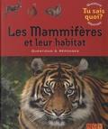 NGV - Les mammifères et leur habitat.