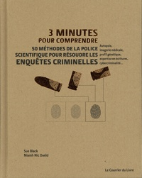Amazon livres télécharger 3 minutes pour comprendre 50 méthodes de la police scientifique pour résoudre les enquêtes criminelles iBook par Niamh Nic Daeid, Sue Black