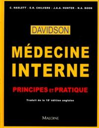 Médecine interne Davidson. Principes et pratique.pdf