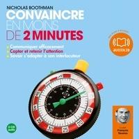 Ebooks pdfs téléchargements Convaincre en moins de 2 minutes