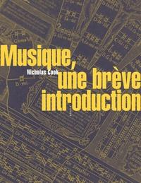 Nicholas Cook - Musique, une brève introduction.