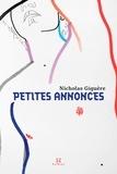 Nicholas Giguère - Petites annonces.