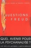 Nicholas Rand - Questions à Freud - Du devenir de la psychanalyse.