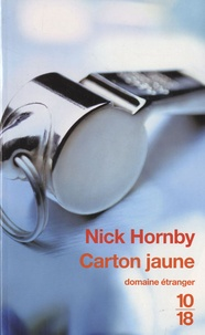 Nick Hornby - Carton jaune.