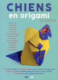 Nick Robinson - Chiens en origami - Avec 100 feuilles.